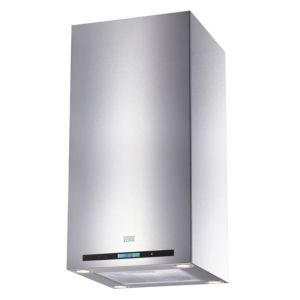 Cooke & Lewis CLIBH-11 Stainless Steel Island Cooker Hood  (W) 900mm