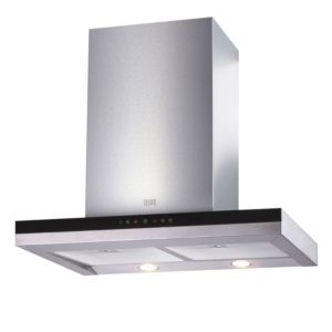 Cooke & Lewis CLBHGH-90 Stainless Steel Box Cooker Hood  (W) 900mm