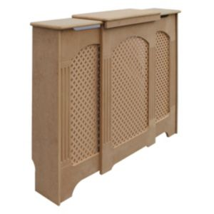 View Adjustable Small - Medium Unfinished Radiator Cover details