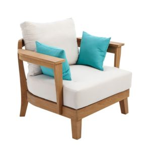 View Roscana Teak Wooden Coffee Armchair details