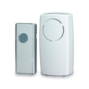 Image of Blyss Wirefree White Door Chime