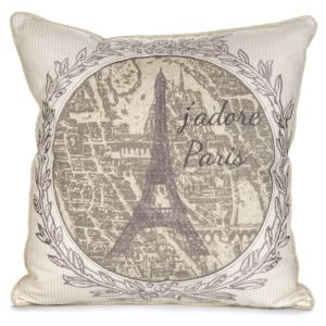 View Henrietta Paris Souvenir Beige, Cream & Grey Cushion details