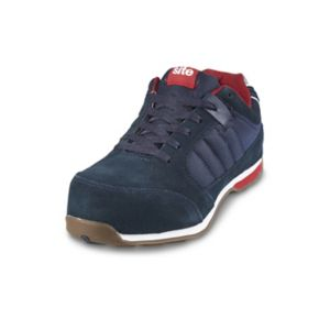 Image of 5052931281855 STRATA TRAINER SHOES NAVY S1P 9 43