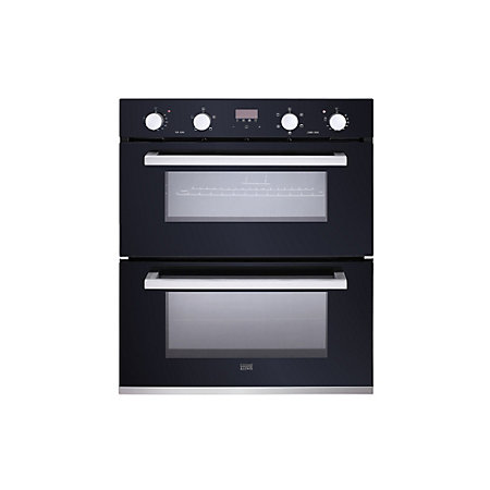 cooke lewis cldmo 35 black electric double oven departments tradepoint. Black Bedroom Furniture Sets. Home Design Ideas