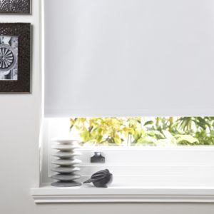 Colours Kona Corded White Roller Blind (L)160 cm (W)60 cm