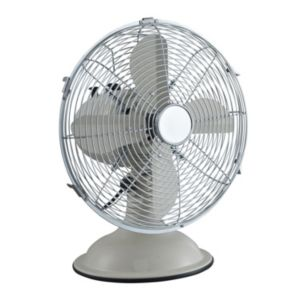View Blyss Cream Metal Desk Fan details