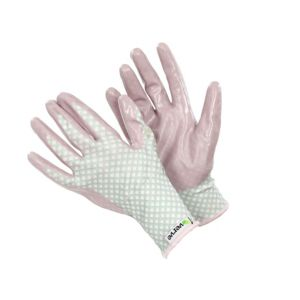 B&Q/Safety & Workwear/Workwear/Verve Nitrile & Polyester Ladies Weed & Seed Gloves