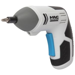 View Mac Allister 3.6V Li-Ion Cordless Screwdriver MSSD36-LI details