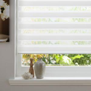 Bathroom Window Blinds B&Q colours day & night corded white roller blind (l)160 cm (w)180 cm