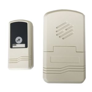 Image of Facet Wireless Ivory white Door chime