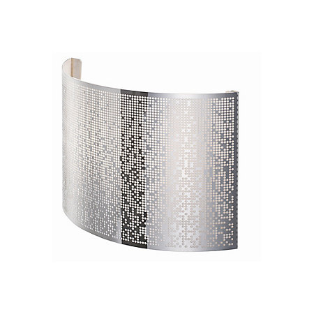 Klerk chrome effect single wall light departments diy for B q bedroom lighting