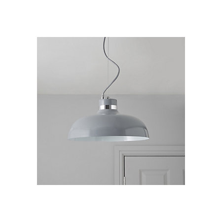 Holman Grey Pendant Ceiling Light