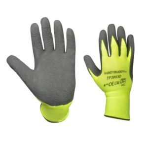 B&Q/Safety & Workwear/Workwear/Diall Hi-Vis Gripper Gloves  Pair
