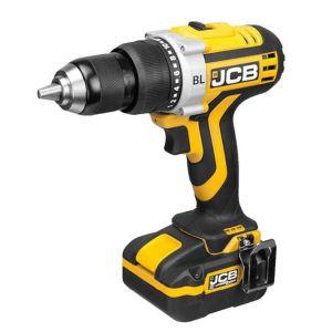 JCB Cordless 20V 3Ah LiIon Combi Drill 1 Battery CDI218JL