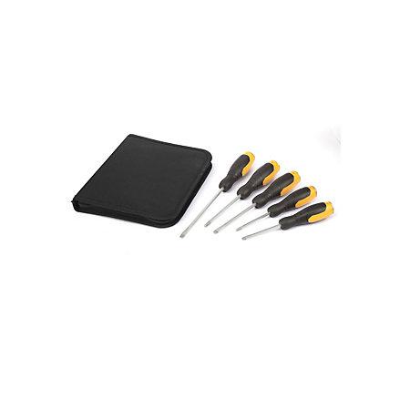 jcb 5 piece mixed screwdriver set departments diy at b q. Black Bedroom Furniture Sets. Home Design Ideas