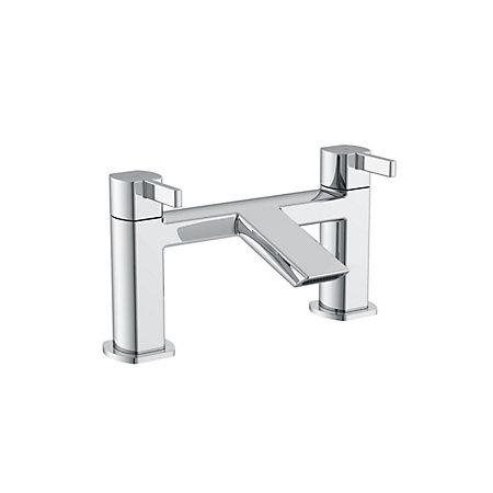 cooke lewis airlie chrome bath mixer tap departments. Black Bedroom Furniture Sets. Home Design Ideas