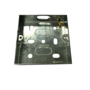 B&Q 16mm Metal Single Box