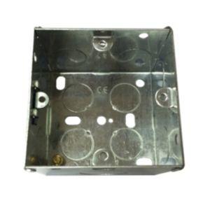 B&Q 47mm Metal Single Box