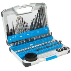 View PTX Mixed Drill Bit Set, 100 Piece details