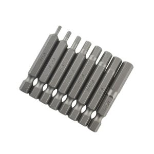 View PTX Mixed Hex Screwdriver Bit 50mm Pack of 8 details