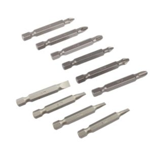 View PTX Mixed Standard Screwdriver Bit Set 50mm, 10 Pieces details