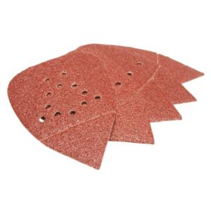 Image of PTX 40 Grit Detail palm sanding sheet (L)135mm (W)95mm Pack of 5