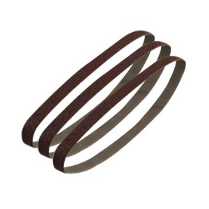 Image of PTX 80 Grit Sanding Belt (W) 13mm (L) 451mm Pack of 3