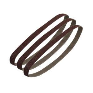 Image of PTX 120 Grit Sanding Belt (W) 13mm (L) 451mm Pack of 3