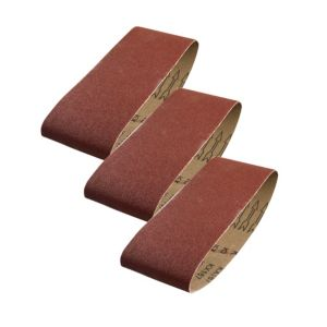 PTX 40 Grit Sanding Belt (W) 75mm (L) 457mm  Pack of 3