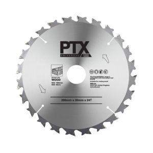 View PTX 24T Table Saw Blade (Dia)200mm details
