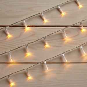 View 7.1m White String Lights with 120 Soft Glow LED Bulbs details