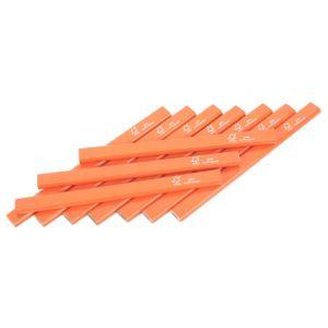 Diall Orange Carpenters Pencils  Pack of 10