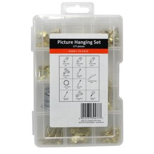 View B&Q Handy to Have Picture Hanging Kit, 177 Piece details
