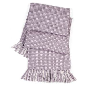 View Malban Wisteria Plain Knitted Throw details