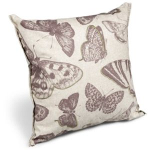 View Harrietta Butterflies Natural Cushion details