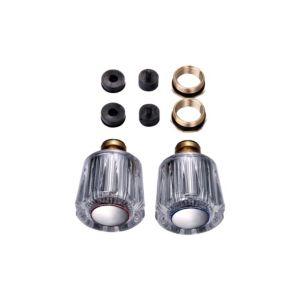 Photo of Acrylic full turn tap gland set of 2