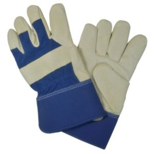 View Verve Medium Leather & Cotton Rigger Gloves details