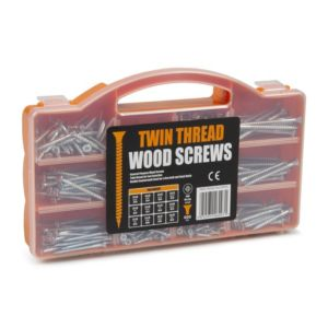 View B&Q Twin Thread Woodscrews Pack of 600 details