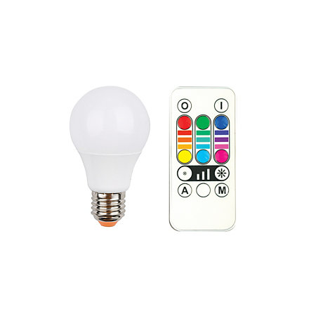 Veezio E27 LED GLS Colour Changing Light Bulb | Departments | DIY ...:0:00,Lighting