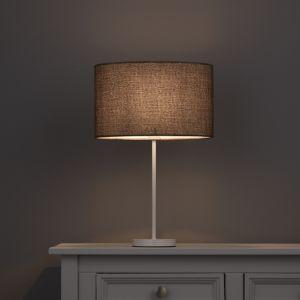 Image of Colours Sadler Brown Metallic effect Light shade (D)300mm