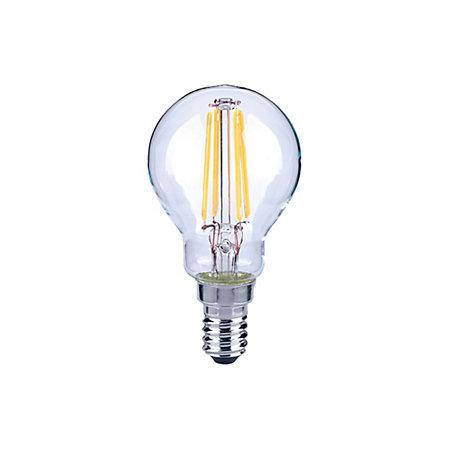 diall e14 4w led filament round light bulb departments. Black Bedroom Furniture Sets. Home Design Ideas