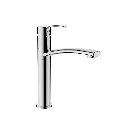 cooke lewis crissey chrome finish kitchen lever tap. Black Bedroom Furniture Sets. Home Design Ideas
