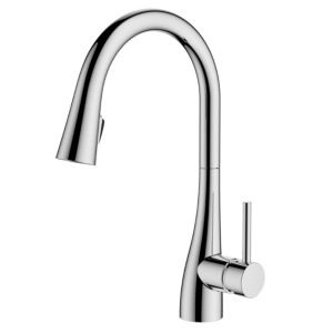View Cooke & Lewis Clyro Chrome Effect Concealed Pull Down Lever Tap details