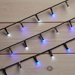 Image of 120 Blue & White LED String Lights