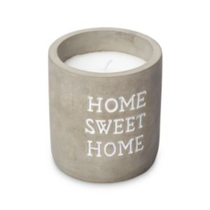 Image of Home Sweet Home Concrete Vanilla Jar Candle