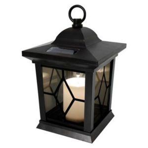 Blooma Maury Black Solar Powered LED Lantern
