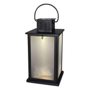 Blooma Orthos Black Solar Powered LED Lantern