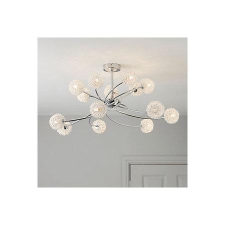 Pallas Chrome Effect 14 Lamp Ceiling Light   Departments   DIY at B&Q:Pallas Chrome Effect 14 Lamp Ceiling Light,Lighting