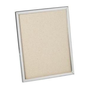 Silver Plated Effect Single Frame Metal Picture Frame (H)231mm x (W)180mm