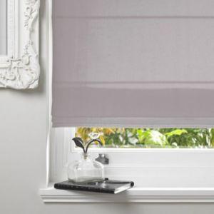 Colours Malle Corded Grey Roman Blind (L)160 cm (W)120 cm